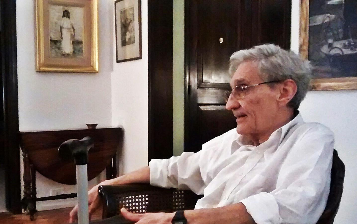 Miércoles 20 de mayo de 2015, Buenos Aires. Domicilio particular de José Giménez Rébora, Barrio de Belgrano.