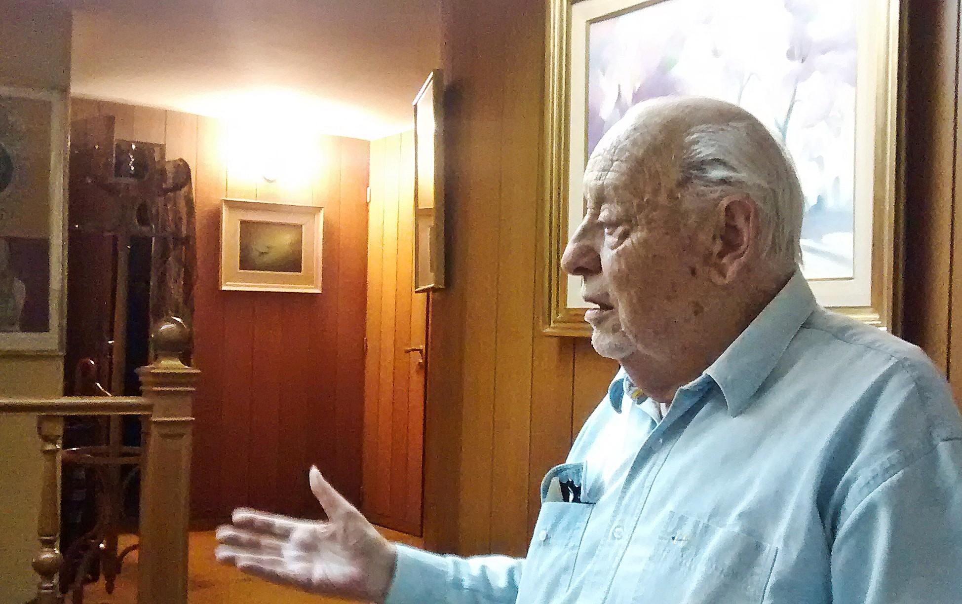 Domingo 31 de mayo de 2015. La Plata, Provincia de Buenos Aires. Domicilio particular del Dr. Ideler Tonelli.