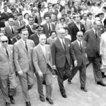 La visita de Frondizi a Río Negro