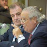 Conferencia del dr. Cardone sobre la vida política de Arturo Frondizi