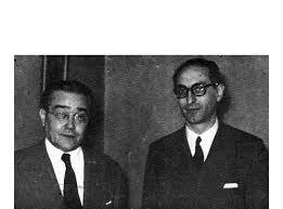 Ricardo Balbín y Arturo Frondizi fueron candidatos a presidente y vicepresidente por la UCR en 1952