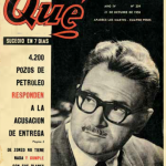 """Rogelio Frigerio en tapa de """"Qué"""""""
