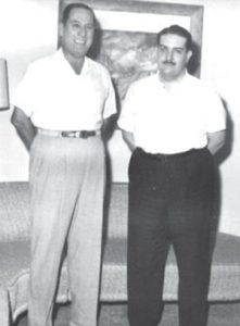 Perón y Cooke en Caracas