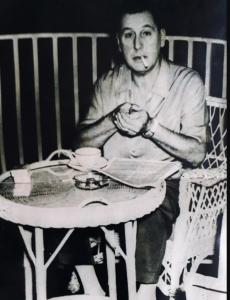 Juan Perón en Caracas 1957