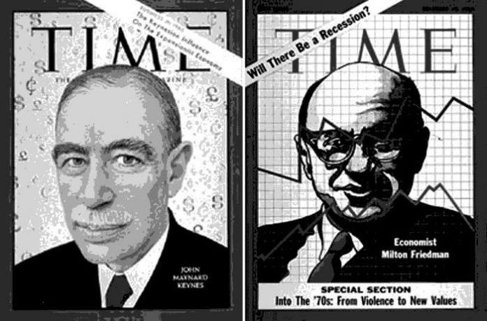 keynesianos y liberales