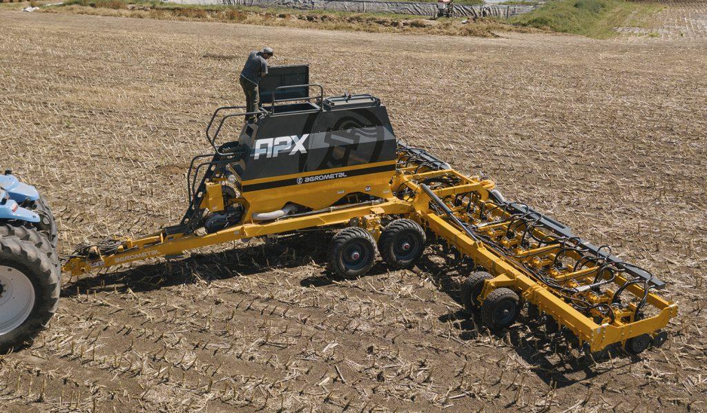 La sembradora APX es la última y más perfecta versión tecnológica de Agrometal