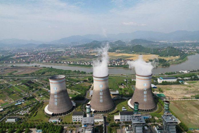 Plantas nucleares en Hangzhou, China. Foto: AFP