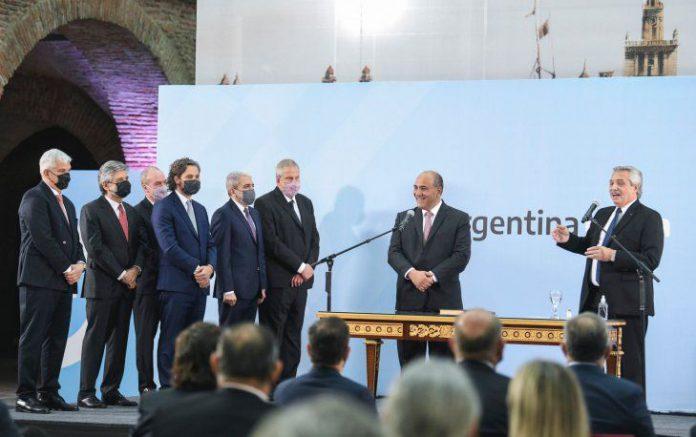 Alberto Fernández tomó juramento a sus nuevos ministros. Presidencia de la Nación