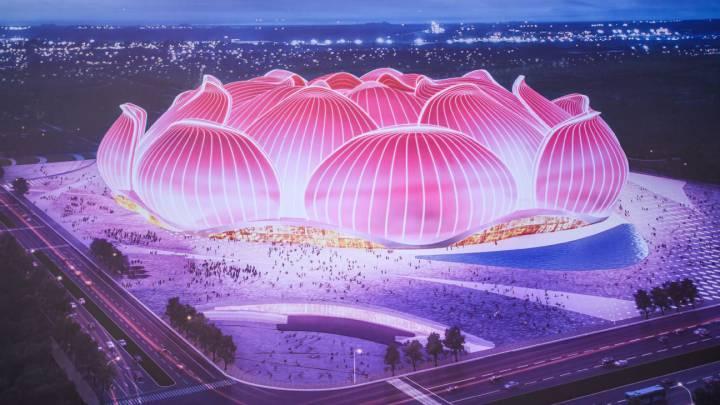 El Estadio más grande del mundo que Evergrande construye para su equipo en Guangzhou